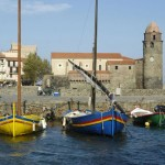 South France Colliour Harbour