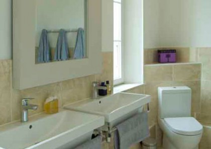 le Manoir holiday rental south of france Narbonne bathroom