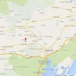 Map south france Canet d'Aude